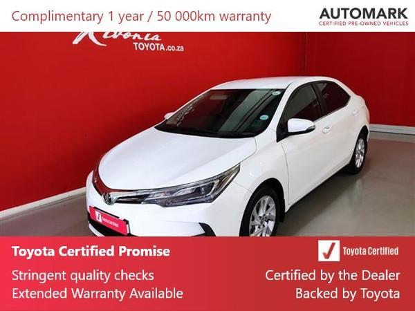 2020 Toyota Corolla 1.8 Exclusive Gauteng Sandton_0