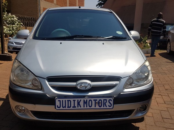 2007 Hyundai Getz 1.6 Ac  Gauteng Johannesburg_0