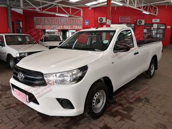 2018 Toyota Hilux 2.4 GD AC Single Cab Bakkie Western Cape Goodwood_0