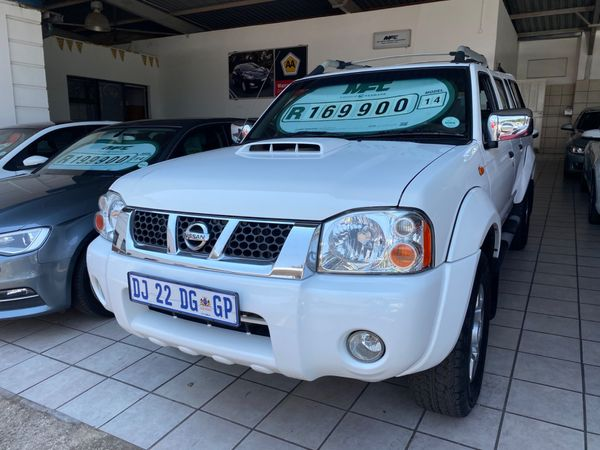 2014 Nissan NP300 Hardbody 2.5 TDi HI-RIDER Double Cab Bakkie Gauteng Krugersdorp_0