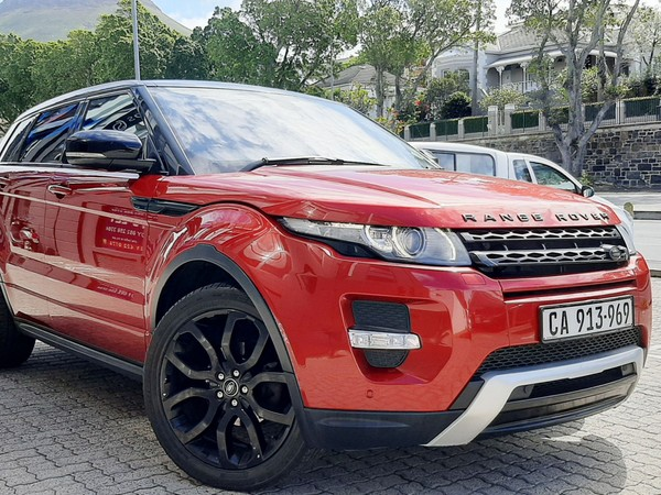 2014 Land Rover Evoque 2.0 Si4 Dynamic  Western Cape Cape Town_0