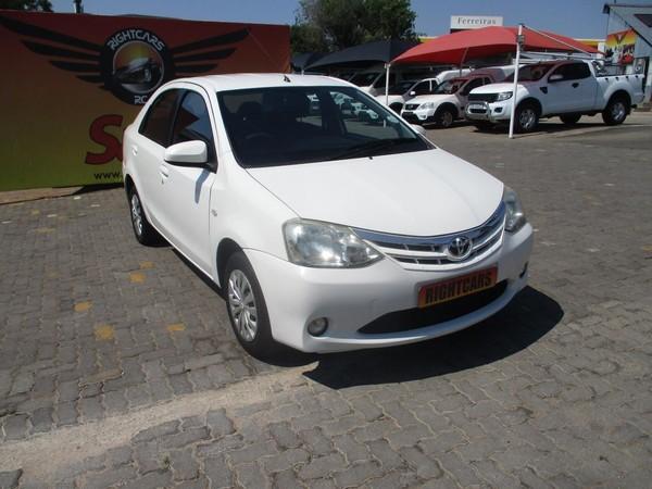 2014 Toyota Etios 1.5 Xs  Gauteng North Riding_0