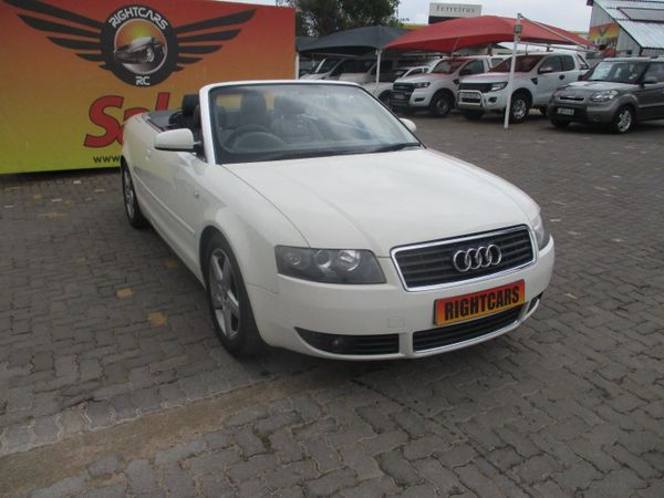 2004 Audi A4 3.0 Cabriolet Multitronic  Gauteng North Riding_0