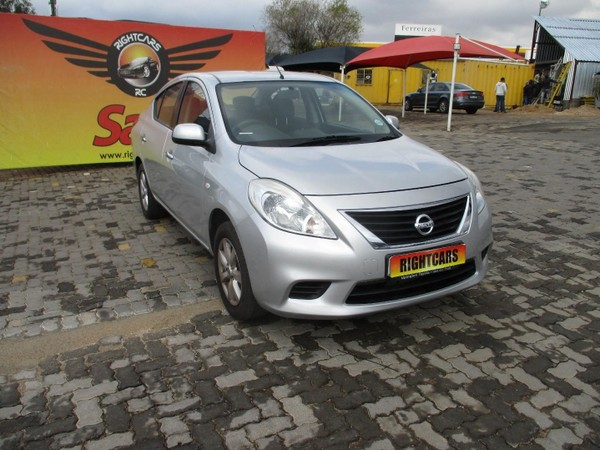 2013 Nissan Almera 1.5 Acenta Gauteng North Riding_0