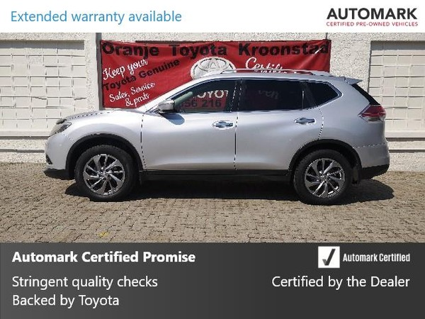 2016 Nissan X-Trail 1.6dCi XE T32 Free State Kroonstad_0
