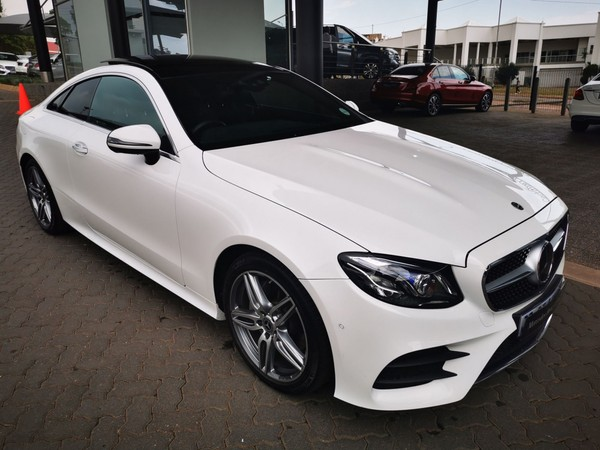 2019 Mercedes-Benz E-Class E 220d Coupe Gauteng Pretoria_0