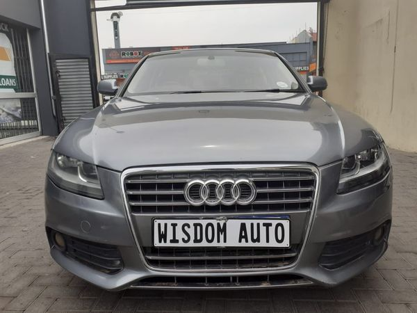2012 Audi A4 1.8t Ambition Multitronic b8  Gauteng Johannesburg_0