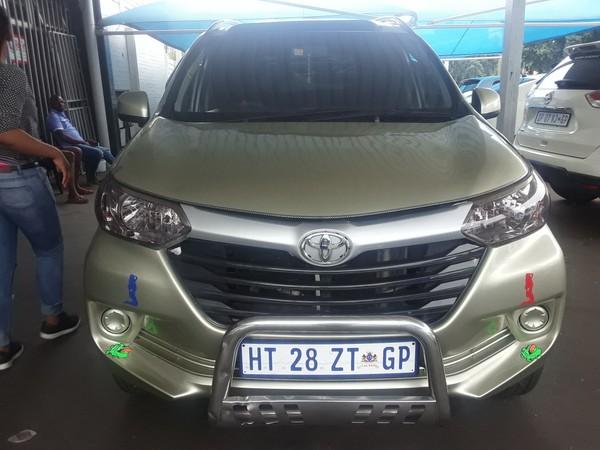 2018 Toyota Avanza 1.5 SX Gauteng Johannesburg_0