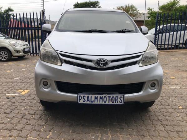 2015 Toyota Avanza 1.3 Sx  Gauteng Johannesburg_0