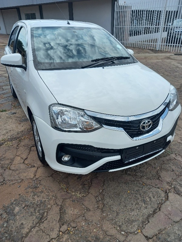 2019 Toyota Etios 1.5 Xs 5dr  North West Province Lichtenburg_0