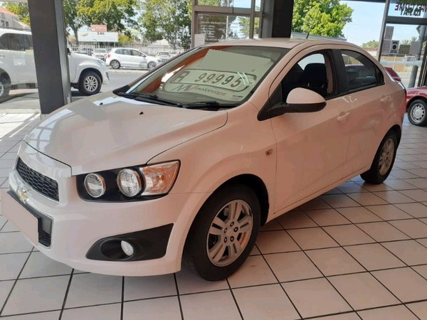 2012 Chevrolet Sonic 1.6 Ls At  Western Cape Goodwood_0