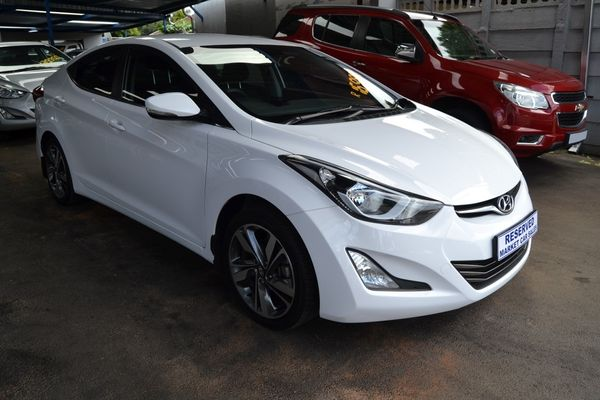 2017 Hyundai Elantra 1.6 Premium Gauteng Johannesburg_0