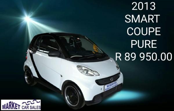 2013 Smart Coupe Pure Mhd  Gauteng Johannesburg_0