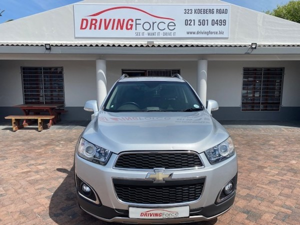 2013 Chevrolet Captiva 2.2d Ltz 4x4 At  Western Cape Wynberg_0