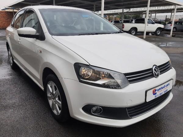 2012 Volkswagen Polo 1.6 Comfortline Tip  Gauteng Johannesburg_0