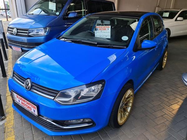 2015 Volkswagen Polo 1.2 TSI Highline 81KW Free State Bloemfontein_0