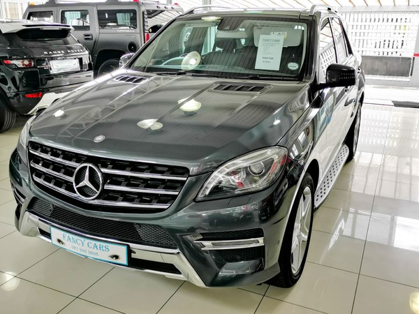 2014 Mercedes-Benz M-Class Ml 350 AMG Bluetec  Western Cape Bellville_0