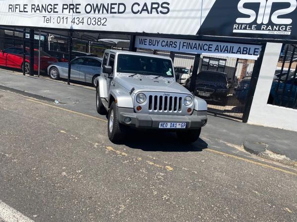 2013 Jeep Wrangler Sahara 3.6l V6 At 2dr  Gauteng Rosettenville_0