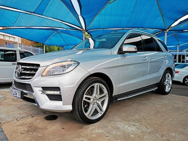 2013 Mercedes-Benz M-Class Ml 350 Bluetec  Gauteng Centurion_0