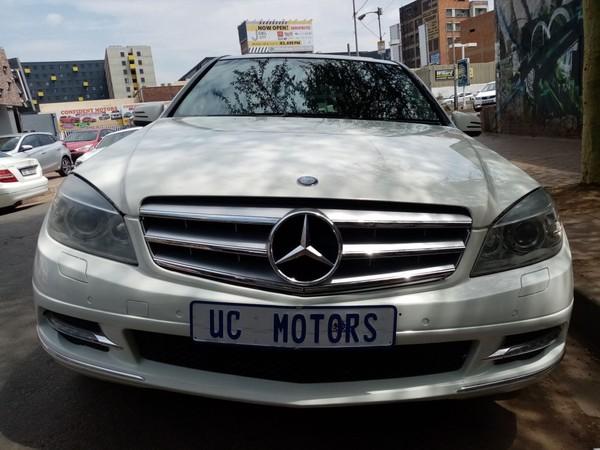 2011 Mercedes-Benz C-Class C180 Be Avantgarde At  Gauteng Germiston_0