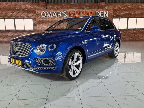 2018 Bentley Bentayga BENTAYGA 4.0 V8 DIESEL ONE OF ITS KIND Mpumalanga Witbank_0