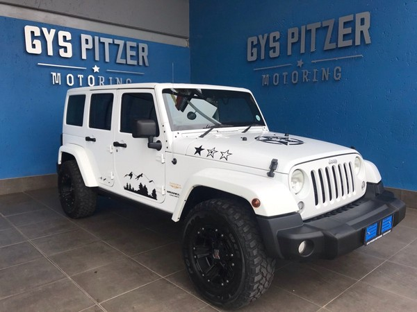2014 Jeep Wrangler Unlimited 3.6l V6 At  Gauteng Pretoria_0