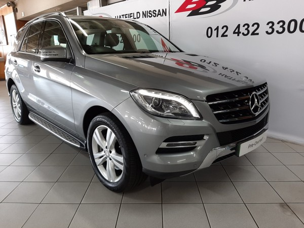 2014 Mercedes-Benz M-Class Ml 350 Bluetec  Gauteng Pretoria_0