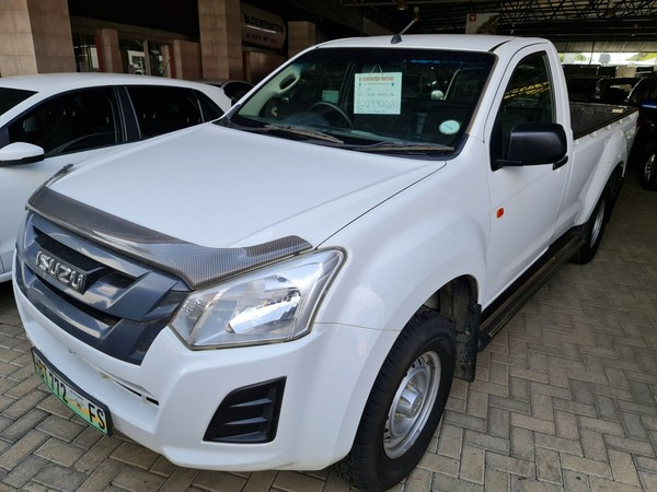 2017 Isuzu KB Series 250 D-TEQ HO Fleetside Single Cab Bakkie Free State Bloemfontein_0