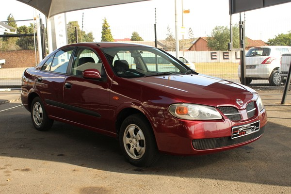 2004 Nissan Almera 1.6 Luxury At h1627  Gauteng Johannesburg_0