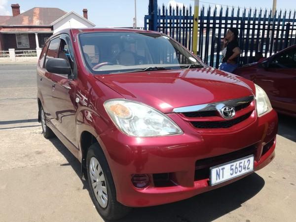 2008 Toyota Avanza 1.5 Sx  Gauteng Johannesburg_0