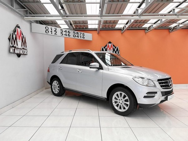 2013 Mercedes-Benz M-Class Ml 250 Bluetec  Gauteng Pretoria_0