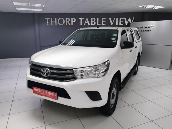 2016 Toyota Hilux 2.4 GD-6 SR 4X4 Double Cab Bakkie Western Cape Table View_0