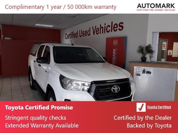 2019 Toyota Hilux 2.4 GD-6 SRX 4X4 Auto Double Cab Bakkie Gauteng Springs_0