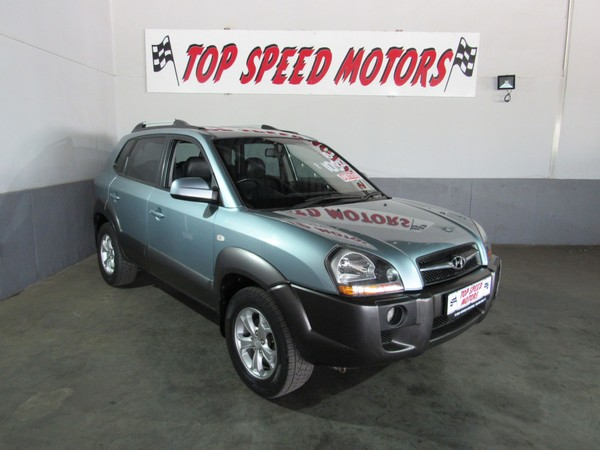 2010 Hyundai Tucson 2.0 Gls  Gauteng Vereeniging_0