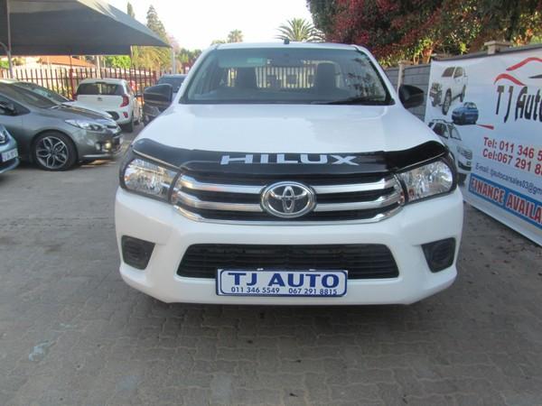2018 Toyota Hilux 2.0 VVT Single Cab Bakkie Gauteng Bramley_0