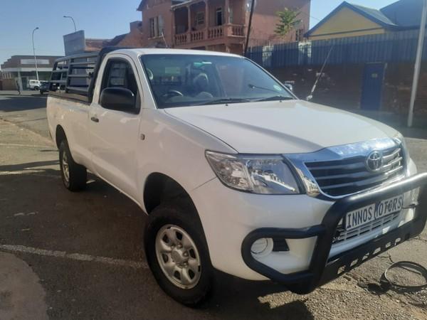 2013 Toyota Hilux 2.5 D-4d Pu Sc  Gauteng Johannesburg_0