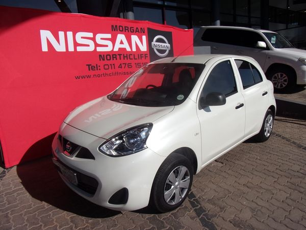 2019 Nissan Micra 1.2 Active Visia Gauteng Johannesburg_0