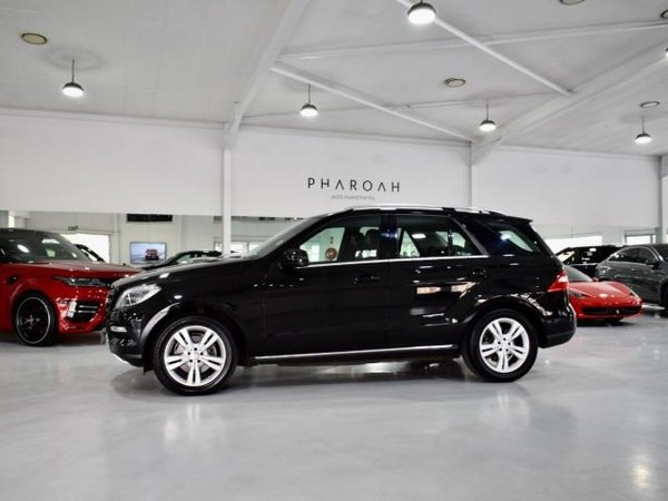2015 Mercedes-Benz M-Class Ml 350 Bluetec  Gauteng Sandton_0