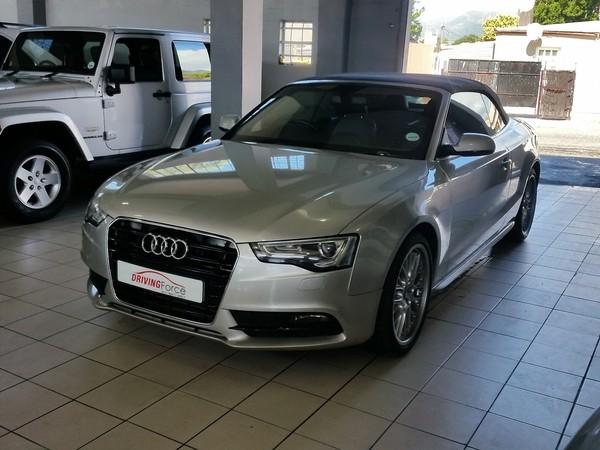 2012 Audi A5 2.0 Tfsi Cabriolet Mtronic  Western Cape Wynberg_0