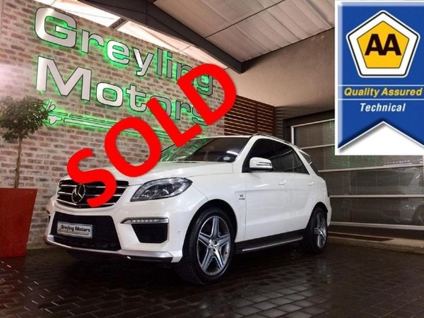 2015 Mercedes-Benz M-Class Ml 63 Amg  Gauteng Pretoria_0