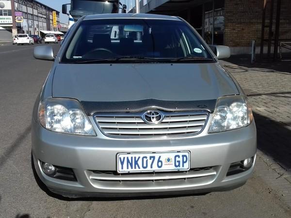 2005 Toyota Corolla 180i Gsx  Gauteng Vereeniging_0
