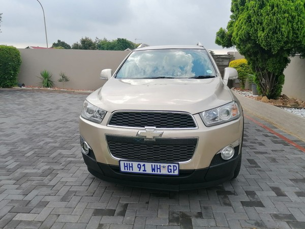 2012 Chevrolet Captiva 2.4 Lt At  Gauteng Randburg_0