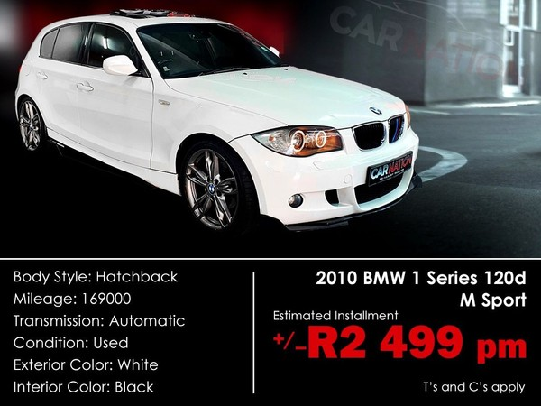 2010 BMW 1 Series 120d Sport At e87  Western Cape Goodwood_0
