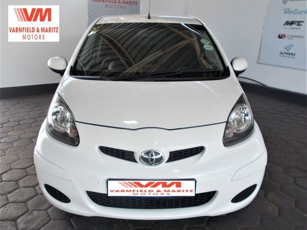 2012 Toyota Aygo 1.0 Wild 3dr  Gauteng Pretoria North_0