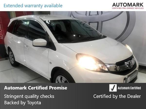 2015 Honda Mobilio 1.5 Comfort CVT Gauteng Johannesburg_0