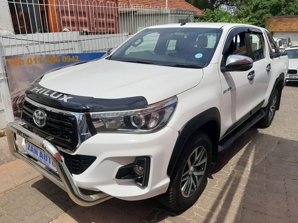 2019 Toyota Hilux 2.8 GD-6 Raider 4X4 Auto Double Cab Bakkie Gauteng Bramley_0