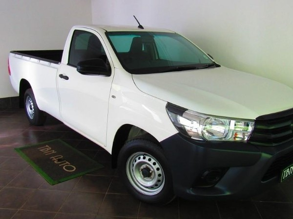 2018 Toyota Hilux 2.4 GD Single Cab Bakkie Gauteng Pretoria_0