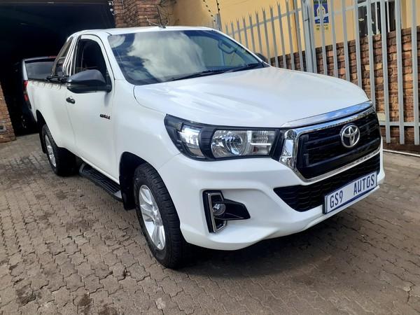 2017 Toyota Hilux 2.4 GD-6 RB SRX Single Cab Bakkie Gauteng Johannesburg_0