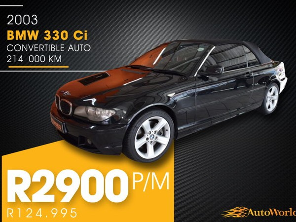 2003 BMW 3 Series 330i Ci Convertible At e46  Western Cape Goodwood_0