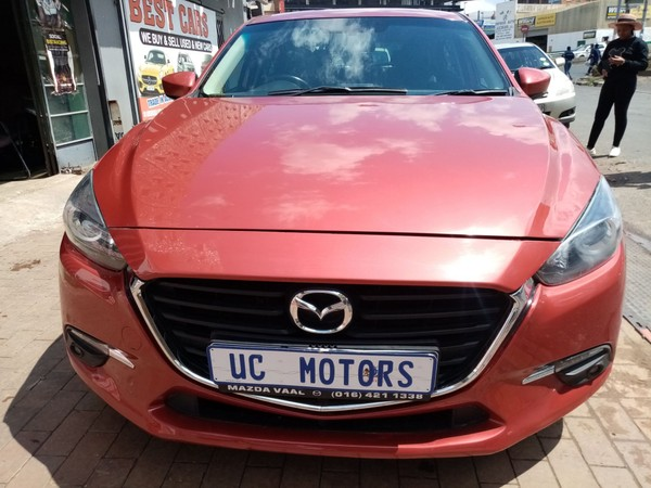 2016 Mazda 3 1.6 Dynamic 5-Door Gauteng Germiston_0